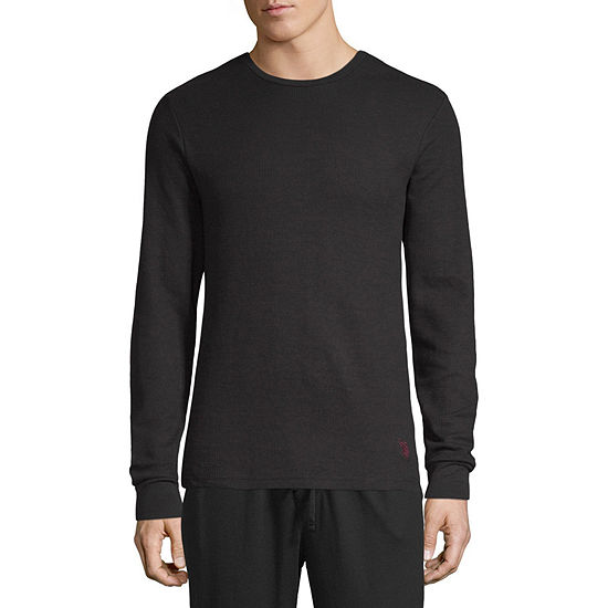 2c8cf5af5c U.S. Polo Assn. Mens Knit Pajama Top Long Sleeve - JCPenney