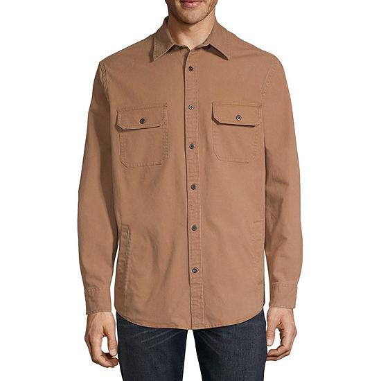 St. John's Bay Lightweight Shirt Jacket