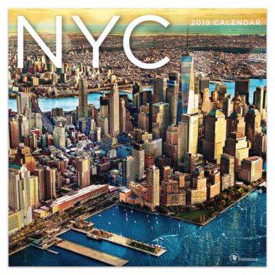 Tf Publishing 2019 Nyc Wall Calendar