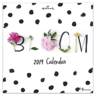 Tf Publishing 2019 Bloom By Hallmark Wall Calendar