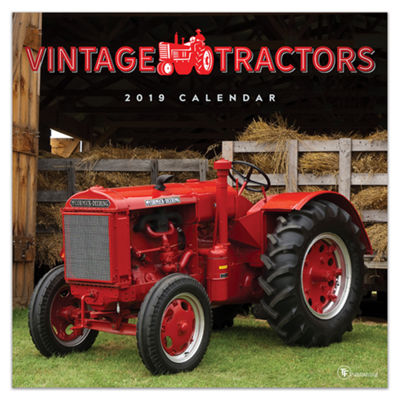Tf Publishing 2019 Vintage Tractors Wall Calendar