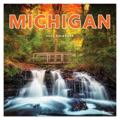 Tf Publishing 2019 Michigan Wall Calendar