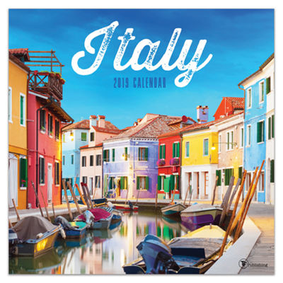 Tf Publishing 2019 Italy Wall Calendar