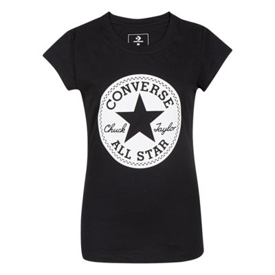 Converse Short Sleeve T-Shirt - Preschool Girls