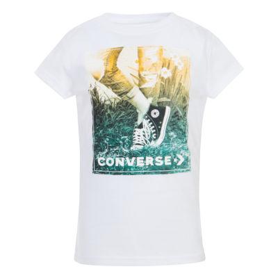 Converse Short Sleeve Graphic T-Shirt Preschool Girls