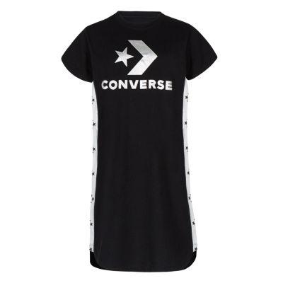 Converse Short Sleeve T-Shirt Dress - Preschool Girls