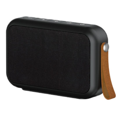 Tzumi Studio Fabric Rectangular Waterproof Bluetooth Speaker