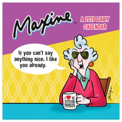 Tf Publishing 2019 Maxine Daily Desktop Calendar