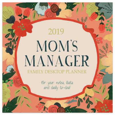 Tf Publishing 2019 Moms Manager Daily Desktop Calendar