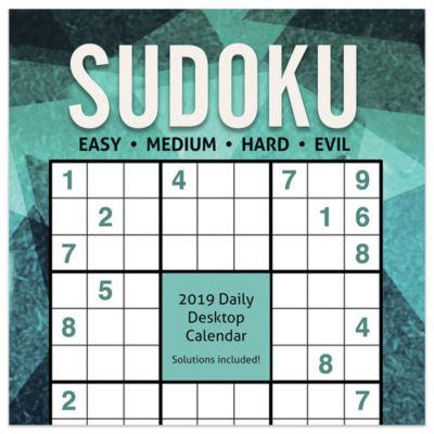 Tf Publishing 2019 Sudoku Daily Desktop Calendar