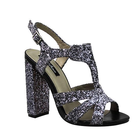 Michael Antonio Womens Gallia Heeled Sandals