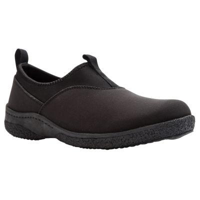 Propet Womens Waterproof Insulated Winter Boots Flat Heel Slip-on