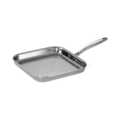 """Tramontina Gourmet Tri-Ply Clad 11"""" Square Grill Pan"""