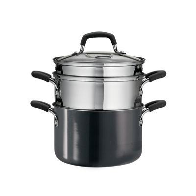Tramontina Gourmet 3-Qt. Multi-Cooker 4-pc. Double Boiler