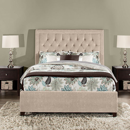Bedroom Possibilities Milan Upholstered Bed
