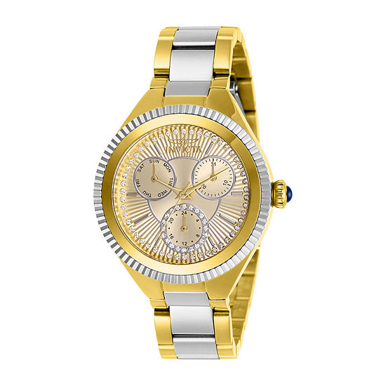 Invicta Angel Womens Two Tone Stainless Steel Bracelet Watch-28821