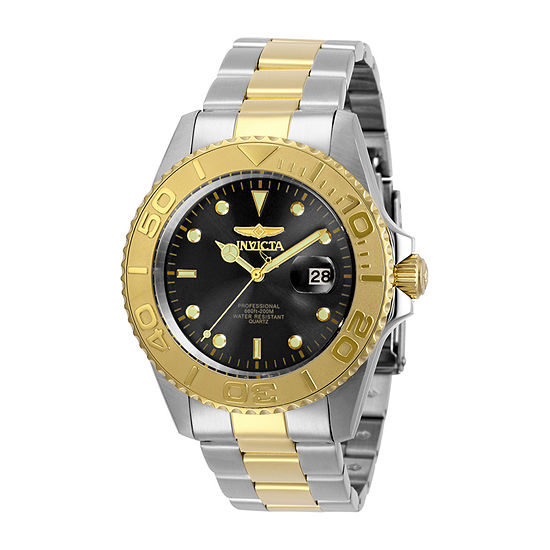 Invicta Pro Diver Mens Two Tone Stainless Steel Bracelet Watch-29948