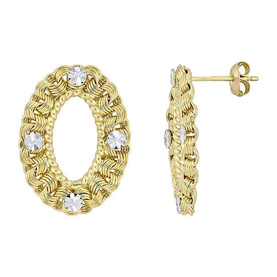 10K Gold Ear Pins