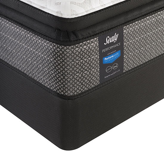 Sealy® Heartwarming LTD Plush Pillow Top - Mattress + Box Spring