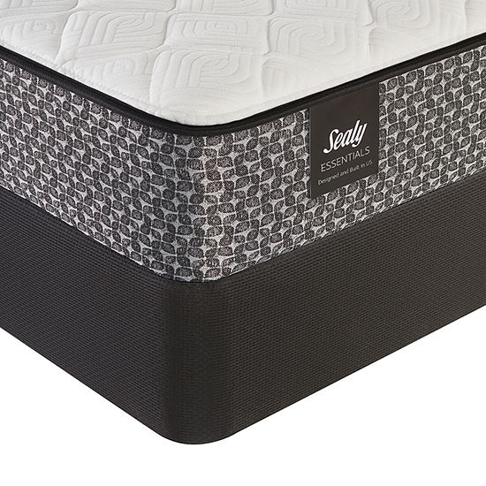 Sealy® Happiness Cushion Firm - Mattress + Box Spring
