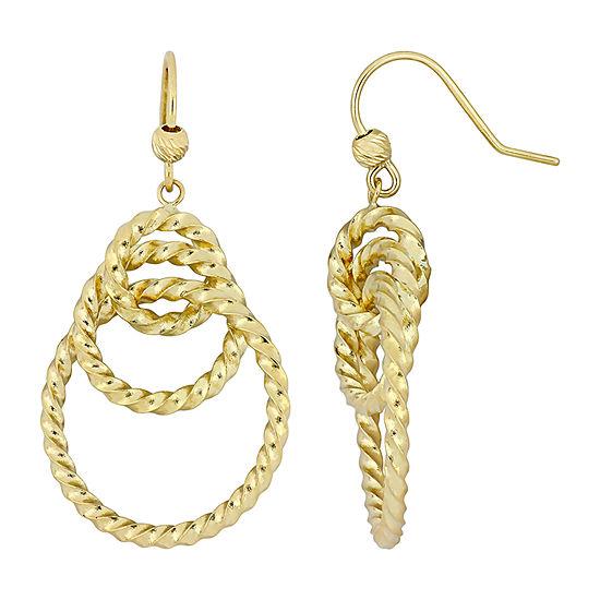 10K Gold Chandelier Earrings