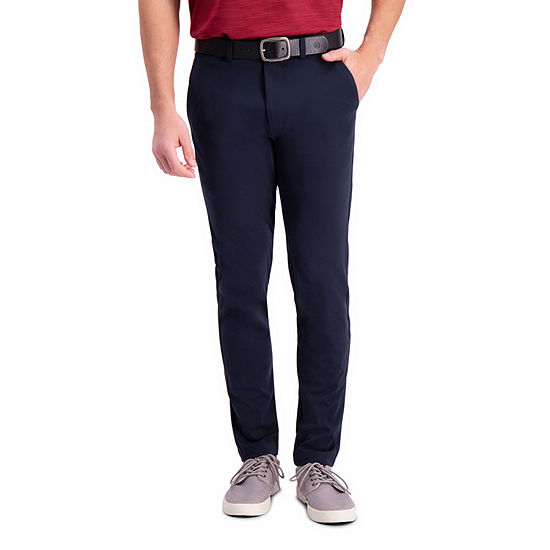 Haggar® Active Series™ Slim Fit Flat Front Tech Pant