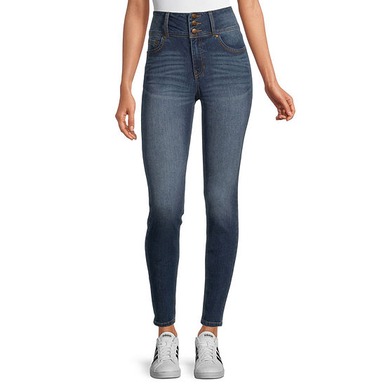 Blue Spice - Juniors Yes - $36 Or Higher Womens High Rise Skinny Fit Jean