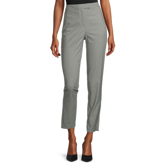 Worthington Modern Fit Straight Side Slit Trouser
