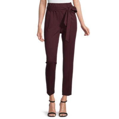 Worthington Womens High Rise Slim Pant