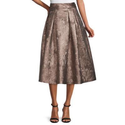 Worthington Womens Long A-Line Skirt