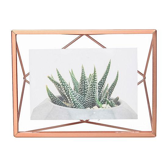 Umbra Prisma Photo Display 4x6 Copper 1-Opening Tabletop Frame