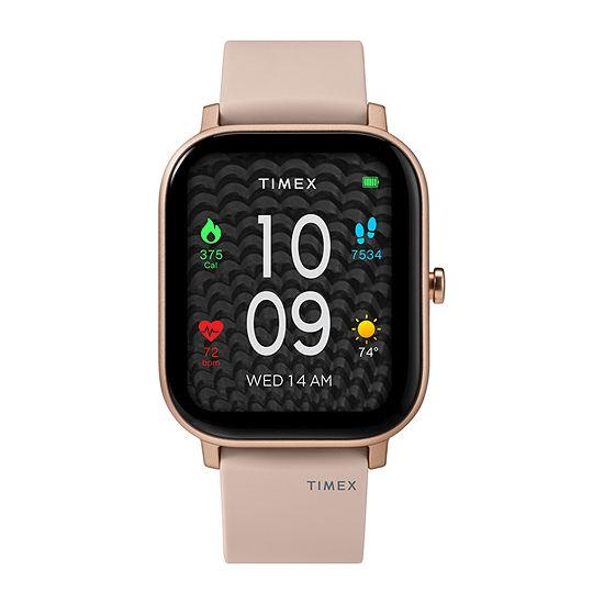 Timex Tech Metropolitan S Womens Pink Smart Watch-Tw5m43300iq