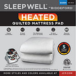 Sleep Well™ by Biddeford™ Quilted Heated Mattress Pad