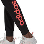 Adidas Ft Logo Jogger Womens Mid Rise Workout Pant