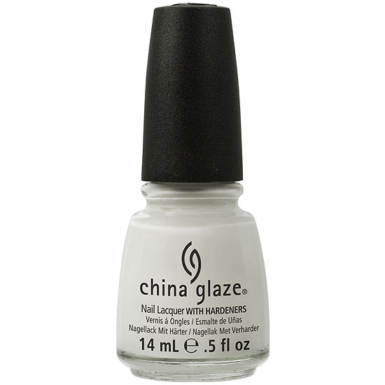 China Glaze® White On White Nail Polish - .5 oz.