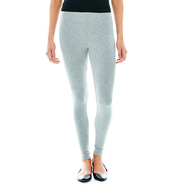 6d58c2d9337aa Mixit Solid Knit Leggings - Tall. Mixit Lace Up Hem Slim Leggings