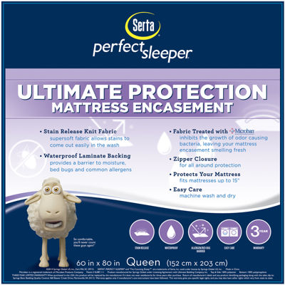 Serta® Ultimate Protection Mattress Protector
