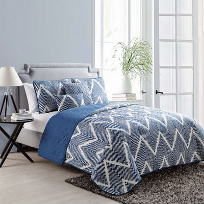 VCNY Mela Chevron 5-pc. Quilt Set