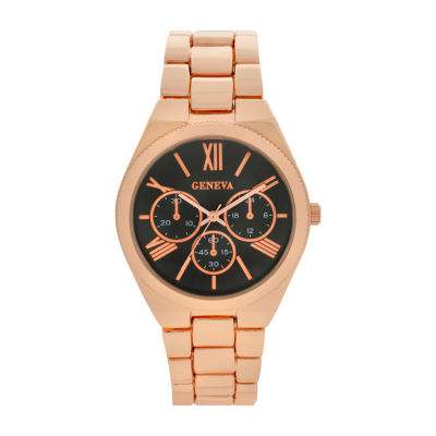 Geneva Womens Gold Tone Bracelet Watch-Wac8550jc