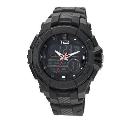 Armitron® Mens Black Digital Watch