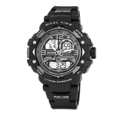 Armitron® Mens Black Analog and Digital Watch