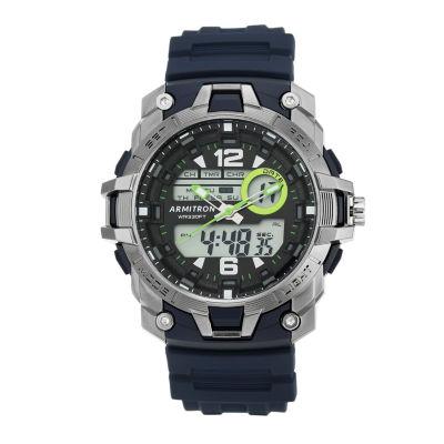 Armitron® Mens Blue Analog and Digital Watch