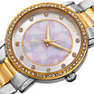 Akribos XXIV Womens Two Tone Bracelet Watch-A-880ttg