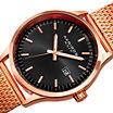 Akribos XXIV Mens Black Bracelet Watch-A-901rgb
