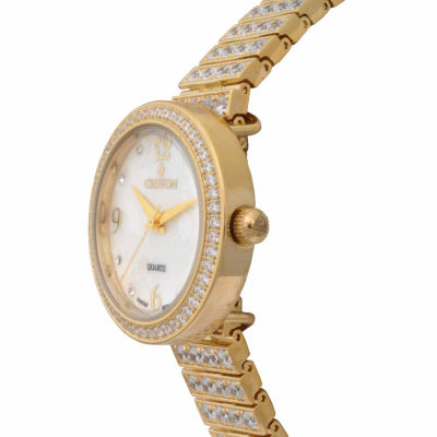 Croton Womens Gold Tone 4-pc. Watch Boxed Set-Cn207555ylmp
