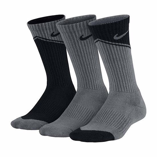Nike 3-pk. Graphic Crew Socks- Boys