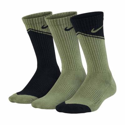 3-pk. Nike Graphic Crew Socks- Boys
