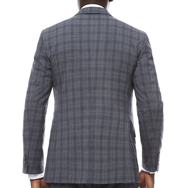 J.Ferrar Classic Fit Woven Suit Jacket