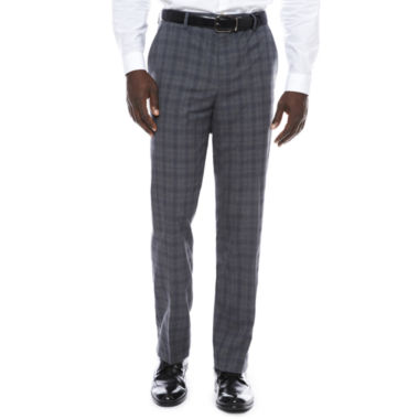 Men's J.Ferrar Stretch Woven Flat-Front Classic Fit Suit Pants