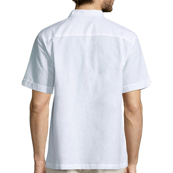 Havanera Short Sleeve Button-Front Shirt